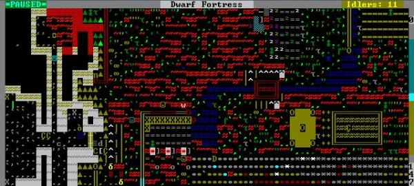 Dwarf Fortress. Scary as fuck.
